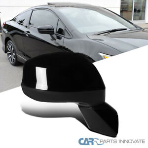 For 12 15 Honda Civic Assembly Power 3 Pin Passenger Right Fold View Side Mirror