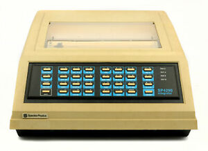 Spectra Physics Chromatography Integrator Used 1980 s Science Testing Equipment