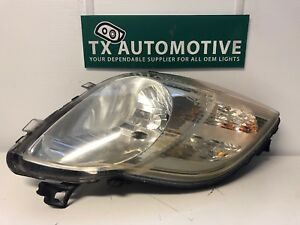 2006 2007 2008 Toyota Yaris Hatchback Headlight Left Lh Driver Halogen Oem L95