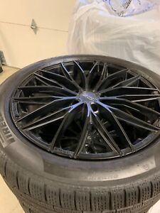 4x19 Oz Italia 150 Wheels And 245 45 R19 Pirelli Winter Sottozero Benz Sclass