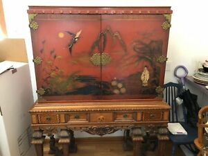Rockford Republic Furniture Asian Oriental Chest Circa 1930 S Rare