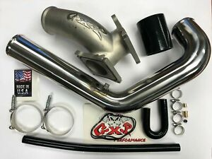 Y bridge Intercooler Pipe Kit For 06 10 Gm 6 6l Duramax Lbz Lmm