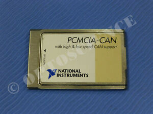 National Instruments Pcmcia can Interface Card High And Low Speed Support