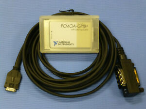 National Instruments Pcmcia gpib Controller Analyzer Card With Latching Cable