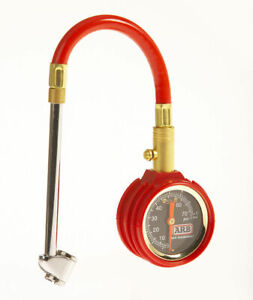 Arb Small Dial Tire Air Pressure Gauge Universal Arb506 red