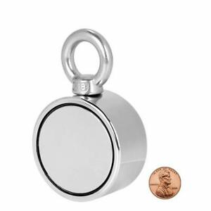 Double Sided Round Neodymium Fishing Magnet