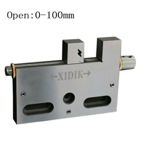 Wire Edm High Precision Vise Stainless Steel 4 Jaw Opening Clamping 100mm