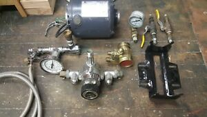 Emerson 1 3 Hp Carbonator Motor With Procon Pump Used Extras Gauges