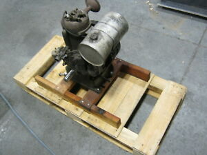 ua Lauson Gas Engine 1933 35 Stationary Rare Air Cooled Motor Antique Vintage