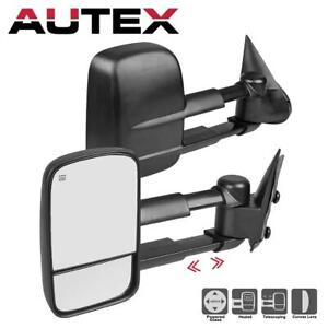 For 2003 2006 Gmc Sierra 2500 Hd 3500 Telescoping Mirrors Power Heated Set