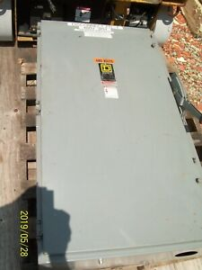 Square D H365 400a 400 Amp Fusible Disconnect Safety Switch Series E2 See Below