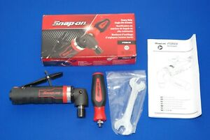 New Snap On Tools Heavy Duty 1 Hp Right Angle Die Grinder Ptgr410 Ships Free