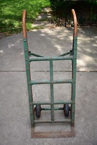 Antique Fairbanks Industrial Barrel Dolly Warehouse Cart Hand Truck