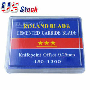 Usa Compatible Roland Vinyl Cutter Blades 10 Packs 60 Degree 5pcs Pack