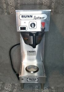 Bunn System Iii Sysiii 12200 0007 Commercial Coffee Brewer 2 Gallons High Volume