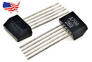 2sa798 2 Pcs original Mitsubishi Sip 5 Audio Transistor From Usa