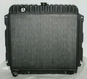 Mopar Black Radiator 22 Cuda Charger Roadrunner Rt Superbee 1970 1971 1972
