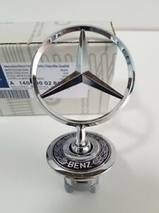 New Genuine Oem Mercedes Benz Front Star Hood Ornament S Class 1408800286