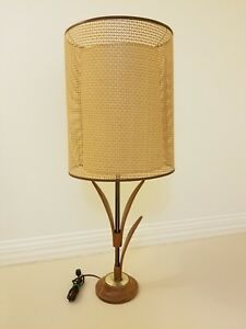 Authentic 1950 S 1960 S Era Retro Mid Century Modern Table Lamp