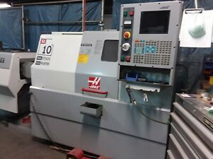 Haas Sl 10 With Servo Bar 300 Barfeeder