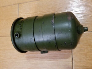 Wwii Military Dodge Wc Powerwagon M37 Jeep Willys Mb Oil Filter Canister Nos