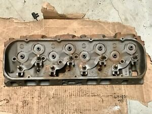 1970 Chevelle Ss 454 396 Rectangle Oval Port Cylinder 291 Head 3964291 L 1 9