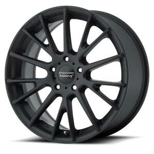 17 Inch 17x7 American Racing Ar904 Satin Black Wheel Rim 5x4 5 5x114 3 40