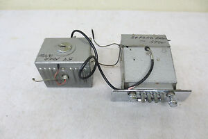 1954 Ford Deluxe 6 Push Button Radio Very Nice Condition With Power Box