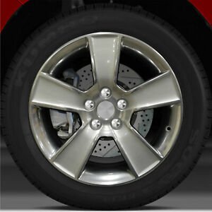 18x8 5 Factory Wheel sparkle Silver For 2006 2009 Ford Mustang
