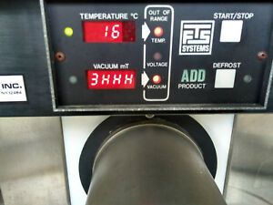 Fts Systems Flexi dry Freeze Dryer Model Fd 3 55a mp Parts