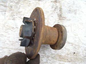 Vintage Ji Case 530 Gas Tractor Engine Water Pump Turns Smoothly