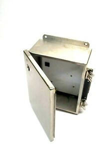 Hoffman A1008chnfss Stainless Steel Enclosure 10 X 8 X 4 5 Inch