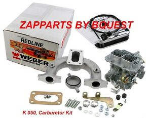 Carburetor Kit 32 36 Dgv Mg mga mgb redline Weber K 050