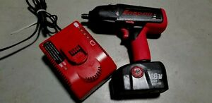 Snap On 18v Cordless Impact Ct4850ho W Battery And Charger