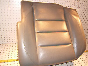 Mercedes W124 500 E Sportline Recaro Rear L Leather Blue Gray Seat Lower 1 Seat