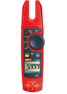 6k Counts True Rms Fork Meter Clamp Meter Dc ac V a Ohm Capacitance Test Ncv