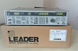 Brand New Leader 3216 Standard Stereo Signal Generator 0 1 140 Mhz