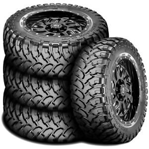 4 New Rbp Repulsor M t Lt 265 75r16 123 120q E 10 Ply Mt Mud Tires