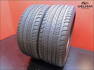 2 Two Tires Hightread Continental 225 40 18 Procontact Tx 92h Oem Audi 49239