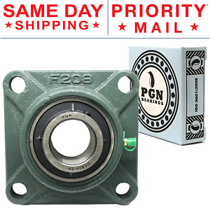 Ucf208 24 Solid Pillow Block Flange Mounted Bearing 1 1 2 Bore 4 Bolt
