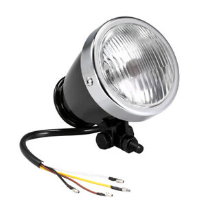 Led Motorcycle Headlight Headlamp Front Lights Driving Lamp Case Universal M3s9