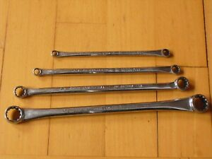 Snap On Tools 4 X Wrench Box Wrench Xdes1820 Xdes1214 Xdes810 Xdes79