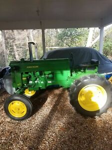 1953 John Deere 40s Antique Tractor Fully Restored great Condition