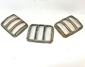 3 Mustang Tail Light Bezels For Rat Rod Projects 1965 Ford Rough