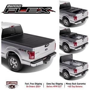 Fx21021 Undercover Flex Tri Fold Tonneau Cover Ford Super Duty 6 9 Bed