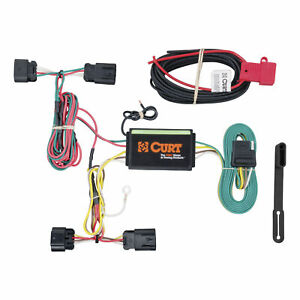 56211 Curt 4 way Flat Trailer Wiring Connector Harness Fits Dodge Avenger