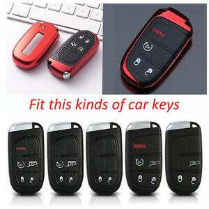 Tpu Soft Key Holder Fit For Chrysler Dodge Challenger Jeep Renegade Accessories