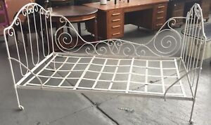 Vintage Cast Iron Daybed Twin Size