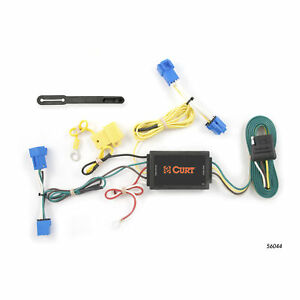 56044 Curt 4 Way Flat Trailer Wiring Connector Harness Fits Cadillac Cts