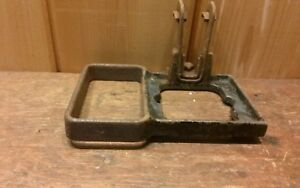Antique Weight Balance Base Post Holder Fairbanks 500 Scale Parts